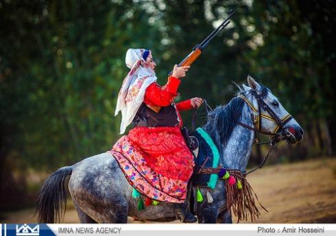 iran cowgirl